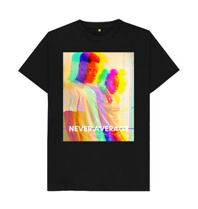 Black Unisex Tee | Never Average Duo (black)