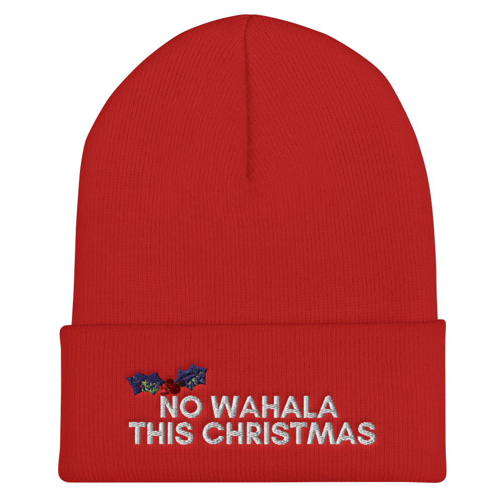 Cuffed Beanie | No Wahala this Christmas