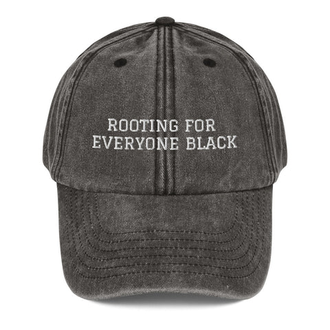 Vintage Hat | Rooting for Everyone Black