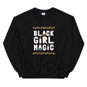 Black Girl Magic Sweatshirt in Black