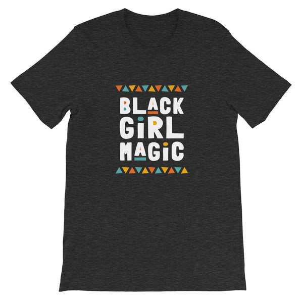 Black Girl Magic Tee in Dark Grey