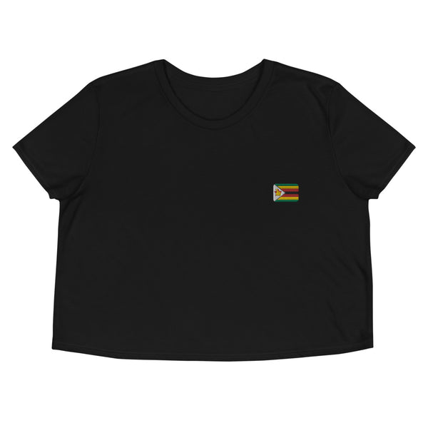 Crop Tee | Rep your flag - Zimbabwe 🇿🇼  [LIMITED EDITION]