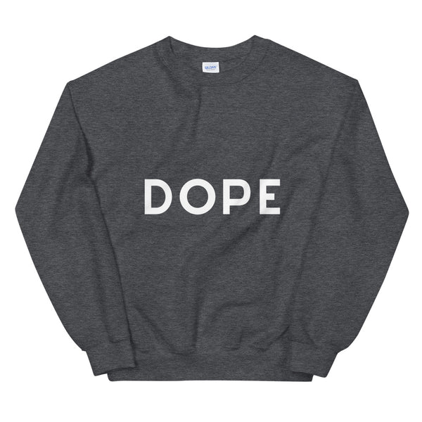 Dope sweatshirt in Dark Heather