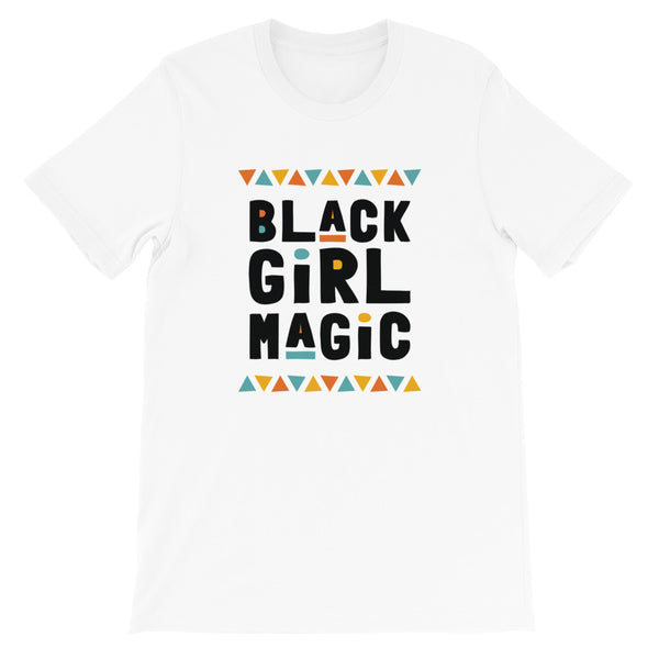 Black Girl Magic Tee in White