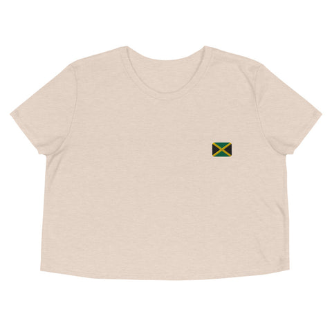 Crop Tee | Rep your flag - Jamaica 🇯🇲 [LIMITED EDITION]
