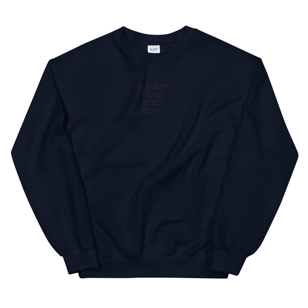 Blackity Sweatshirt in Navy