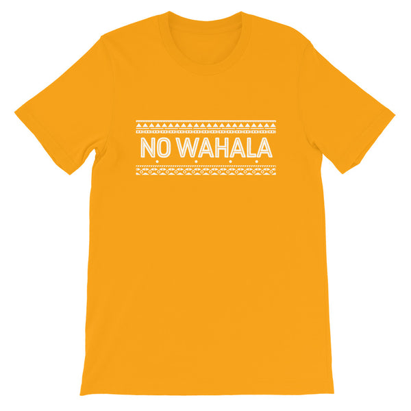 No Wahala Tee in Gold