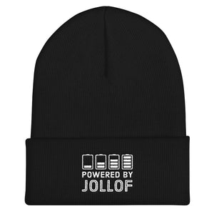 Powered By Jollof Beanie in Black