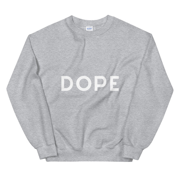 Dope sweatshirt in Grey