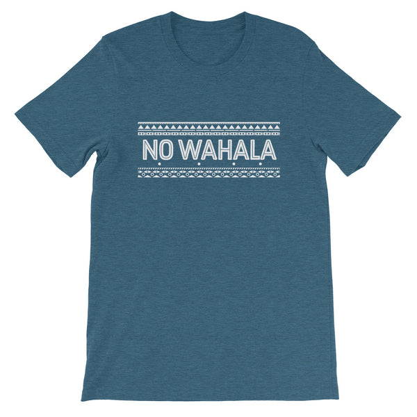 No Wahala Tee in Heather Deep Teal