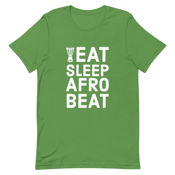 Eat Sleep Afrobeat Tee in Leaf