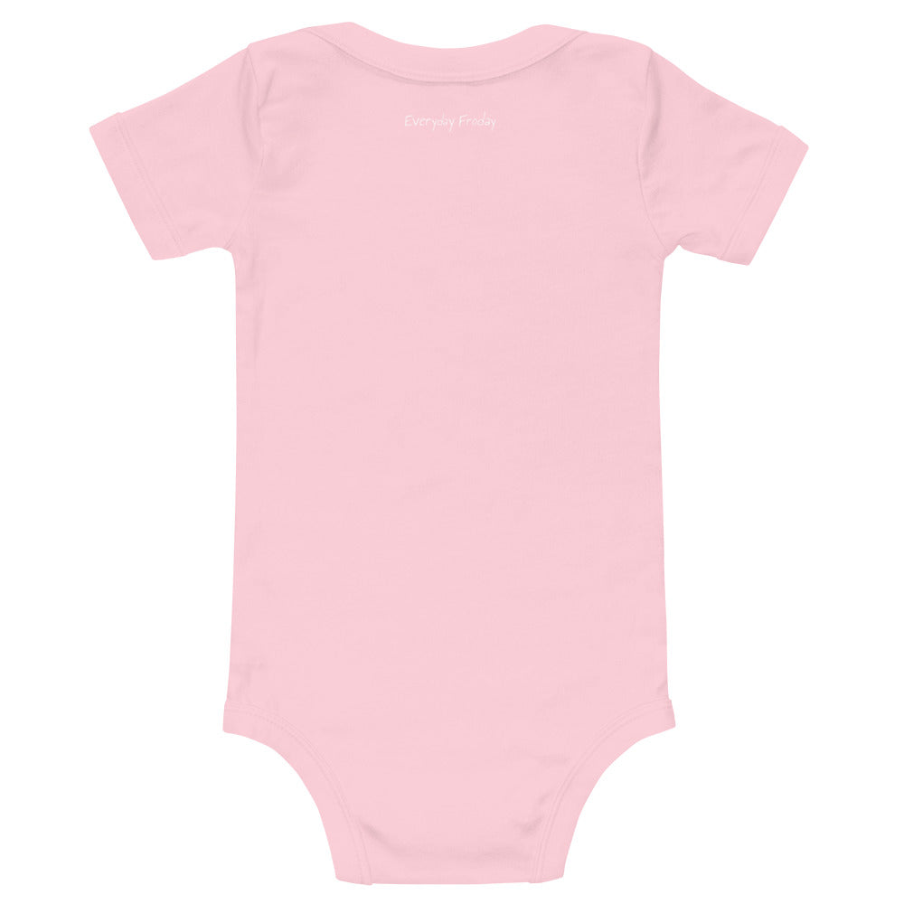 Baby Grow Powered By Jollof Pink