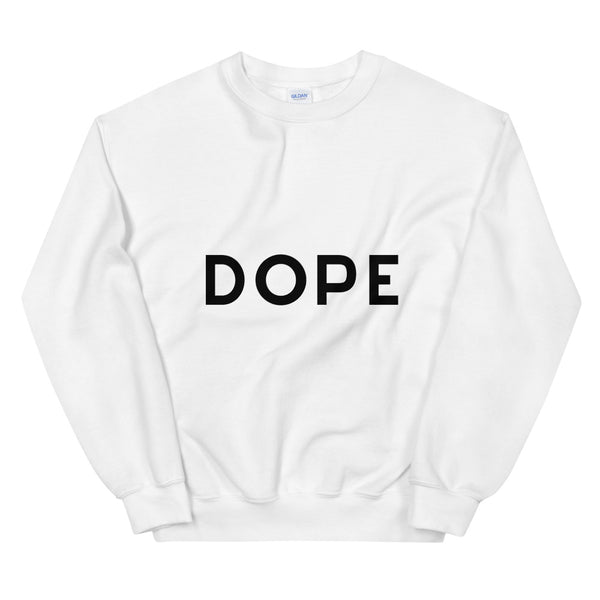 Dope sweatshirt in White