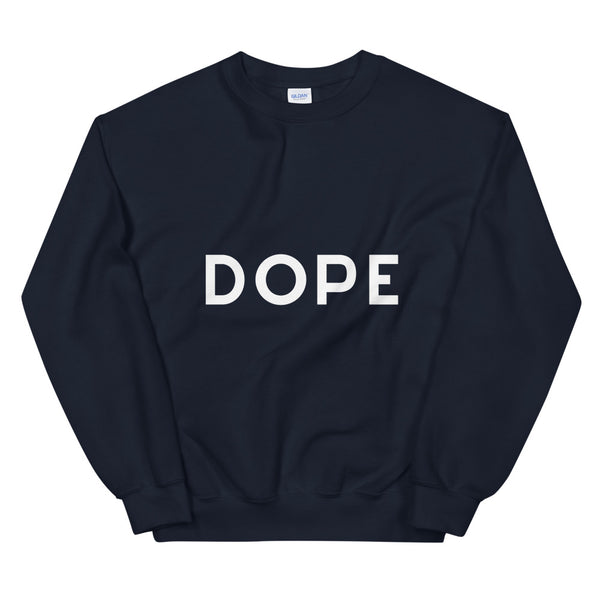 Dope sweatshirt in Navy