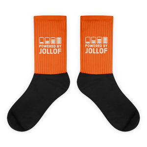 Powered by Jollof Socks in Orange