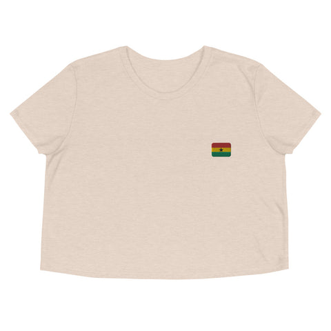 Crop Tee | Rep your flag - Ghana 🇬🇭  [LIMITED EDITION]