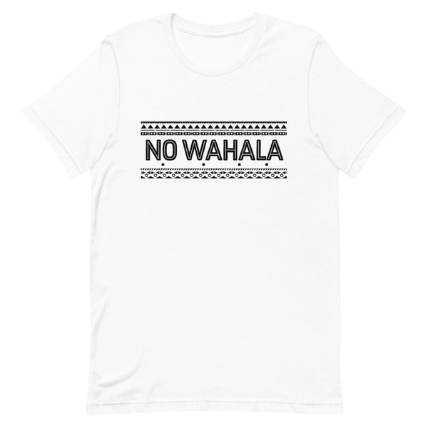 No Wahala Tee in white