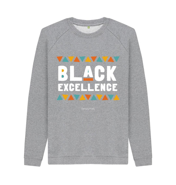 Light Heather Unisex Sweatshirt | Black Excellence