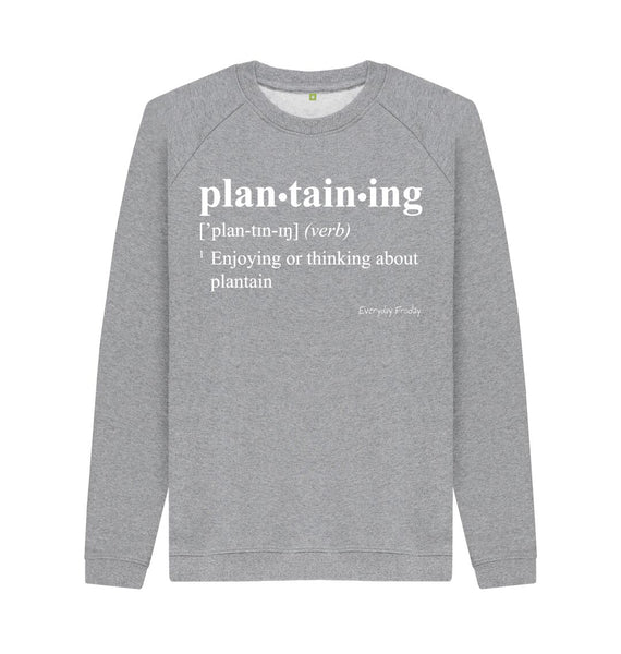 Light Heather Unisex Sweatshirt | Plantaining