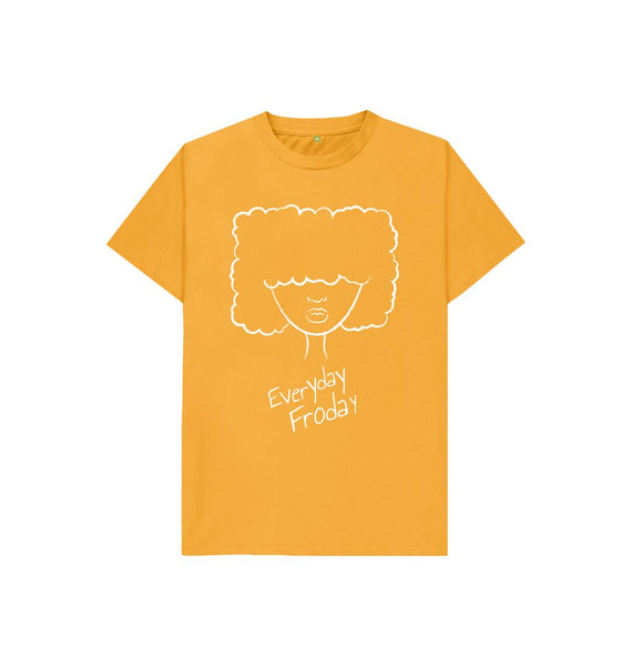 Mustard Kids Unisex Tee | Everyday Froday Girl