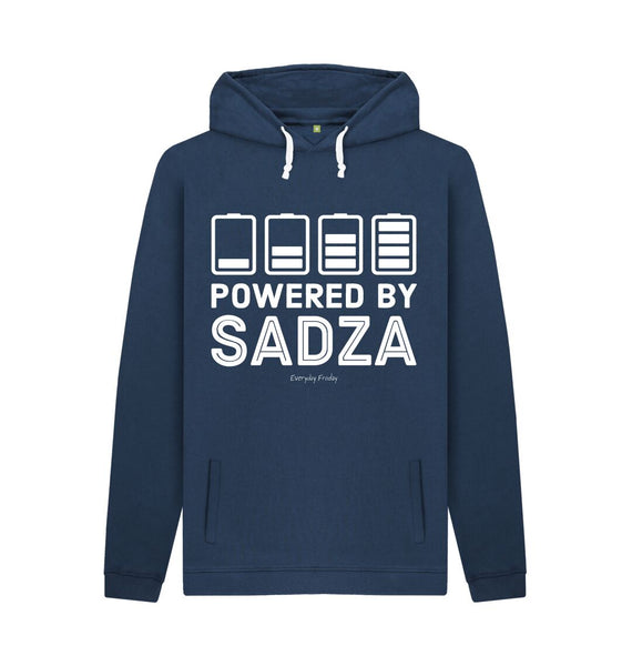 Navy Unisex Hoodie | Powered By Sadza
