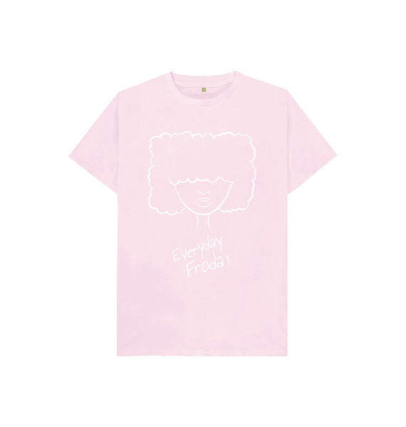 Pink Kids Unisex Tee | Everyday Froday Girl