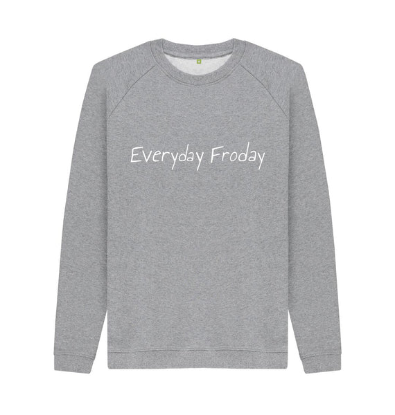 Light Heather Unisex Sweatshirt | Everyday Froday Classic