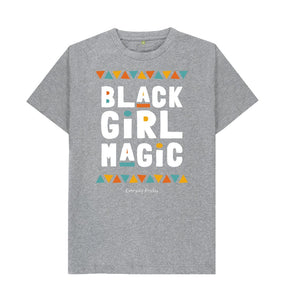 Athletic Grey Unisex Tee | Black Girl Magic