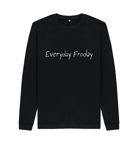 Black Unisex Sweatshirt | Everyday Froday Classic