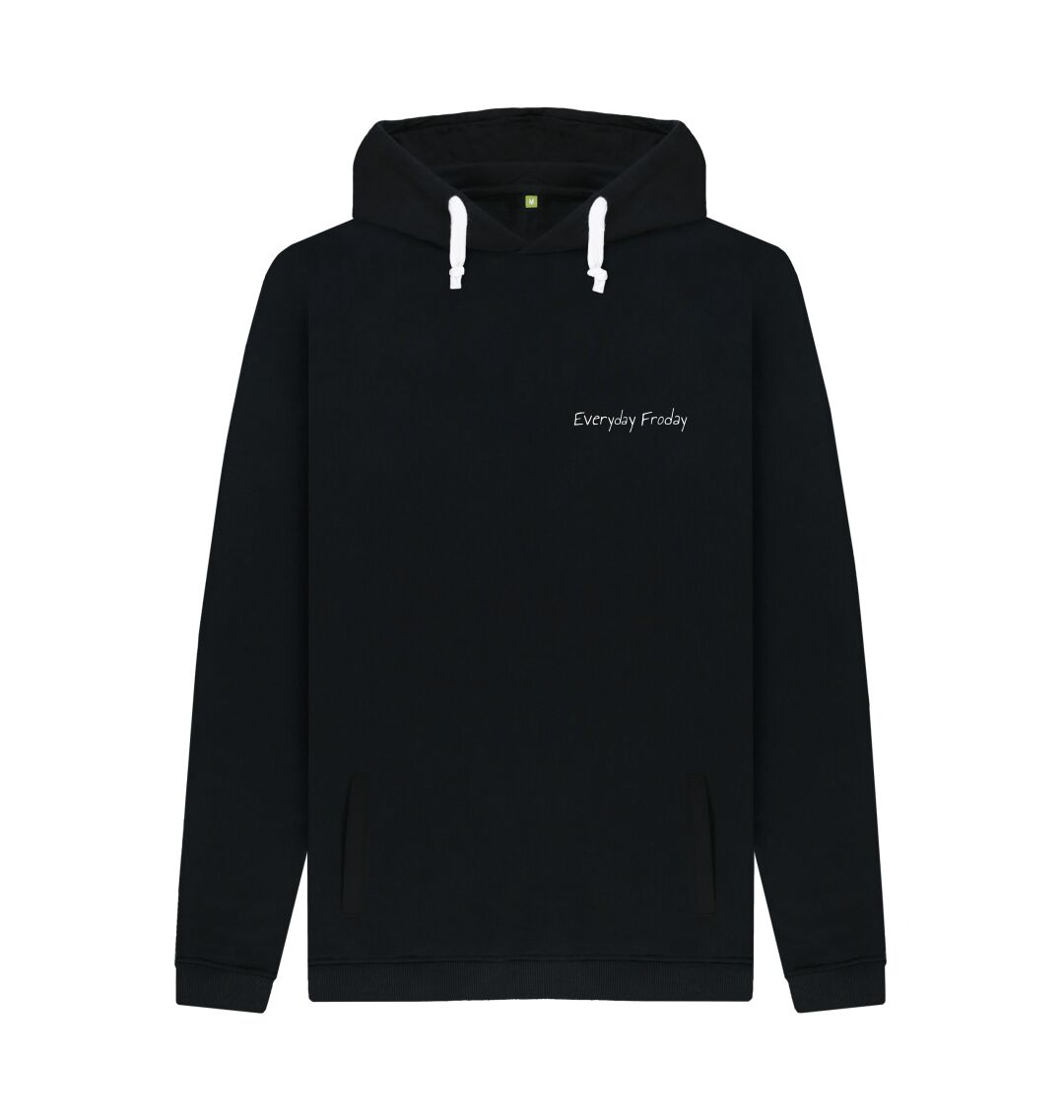 Black Unisex Hoodie | Everyday Froday Classic Small Logo