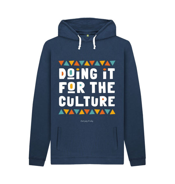 Navy Unisex Hoodie | Doing it for the culture