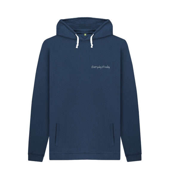Navy Unisex Hoodie | Everyday Froday Classic Small Logo