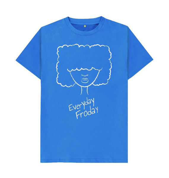 Bright Blue Unisex Tee | Girl Froday