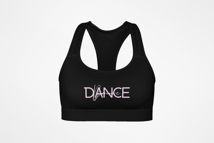 Black Signature Seamless Sports Bra