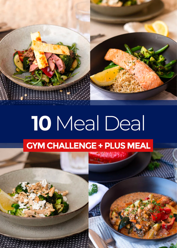10 Meals GYM CHALLENGE + PLUS MEALS
