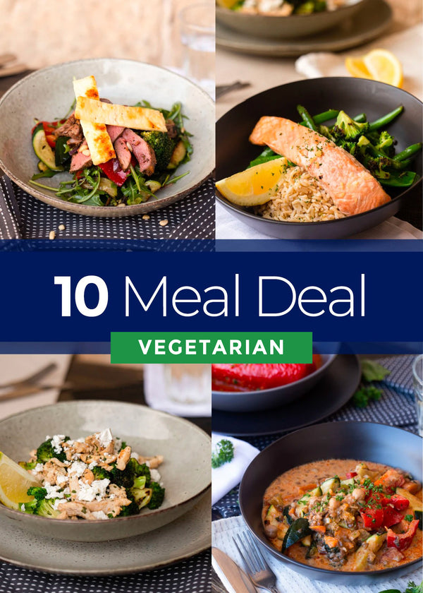 10 Vegetarian Meal deal