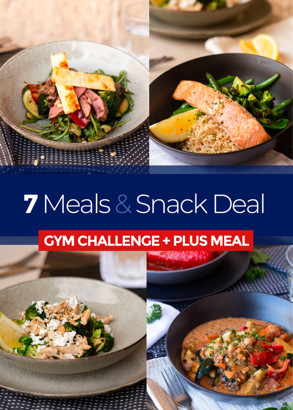 7 GYM CHALLENGE + PLUS MEALS and 7 snacks