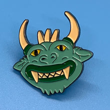 "Load image into Gallery viewer, ""The Hodag"" Custom Lapel Pin"