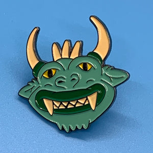 """The Hodag"" Custom Lapel Pin"
