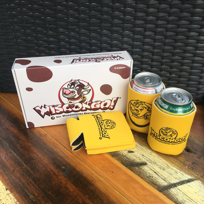 Wiscongo! Bingo Game + 4 Koozies