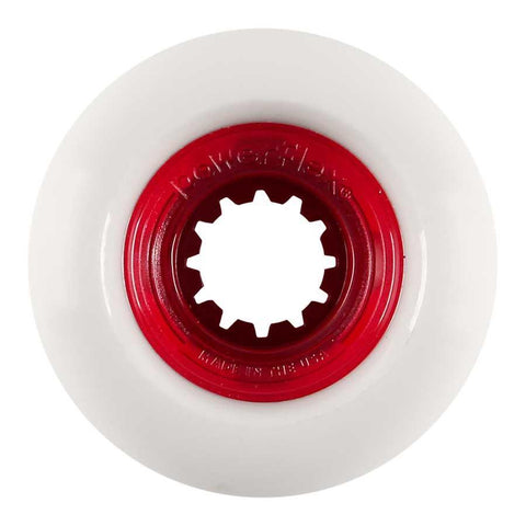 Powerflex wheels Rock Candy 58mm 84b (104a)  RED CORE