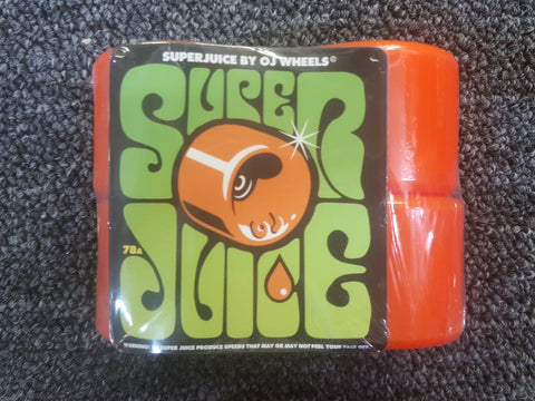 OJ III wheels Super Juice ORANGE 60mm 78a