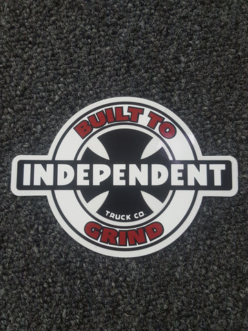 "Independent BUILT TO GRIND STICKER - 5.5"" x 4"""