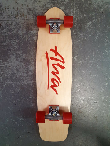 Alva 1977 reissue COMPLETE skateboard  RED