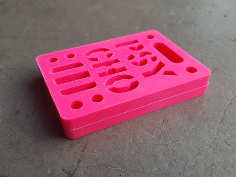 "Riser Pads Psycho Risers - 1/4"" PINK"