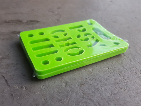 "Riser Pads Phycho Risers - 1/8"" GREEN"