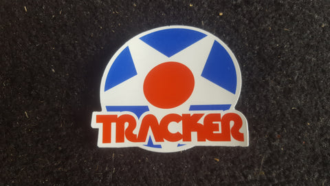 Tracker trucks Star Sticker- 3""