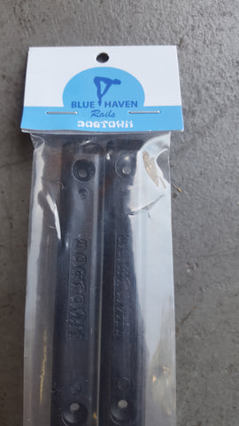Dogtown rails by BlueHaven - BLACK 14.5""