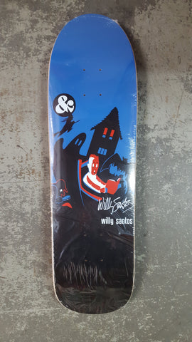 G&S Gordon and Smith WILLY SANTOS Scary Dreams reissue skateboard - BLACK BLUE