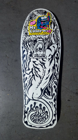 Santa Cruz Salba TIGER reissue skateboard - MY COLOR WAY